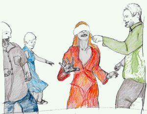 disegni persone che giocano
